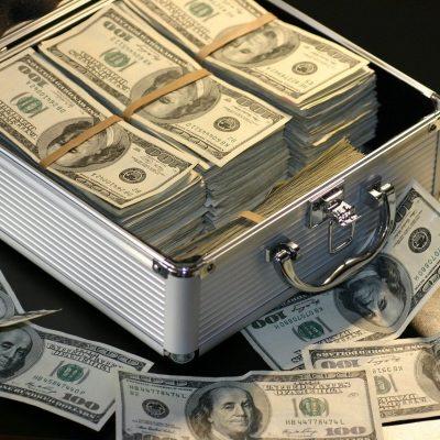 money, dollars, success